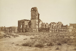 Ruins of Residency and Banqueting Hall, Lucknow.